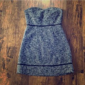 Urban Outfitters strapless tweed dress